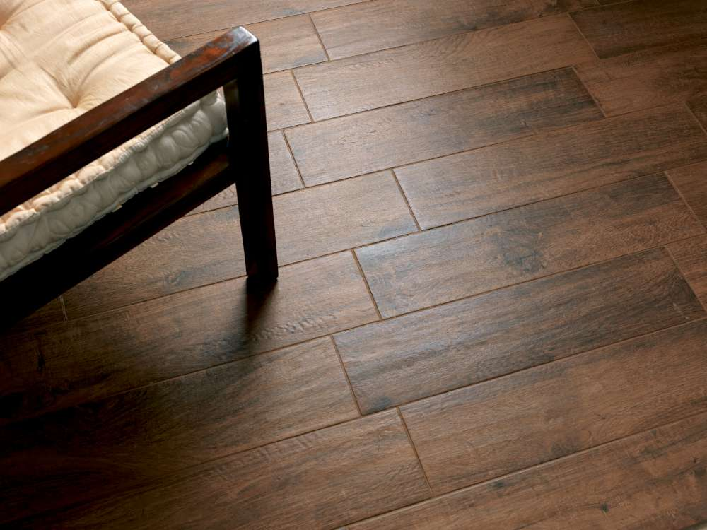 Tabula italian wood look tile 6 x40 scene 2 bv tile and stone Porcelain tile flooring