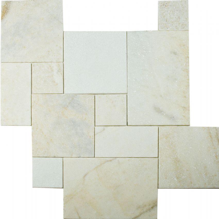 4 sz. Travertine Versailles Tile Pattern Sets - BV Tile and Stone