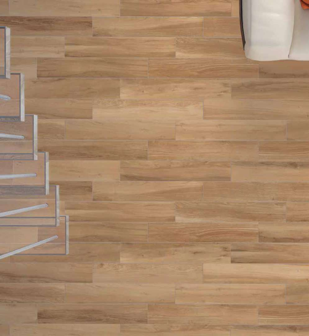 Wood look floor and wall tile bv tile and stone Wood tile flooring