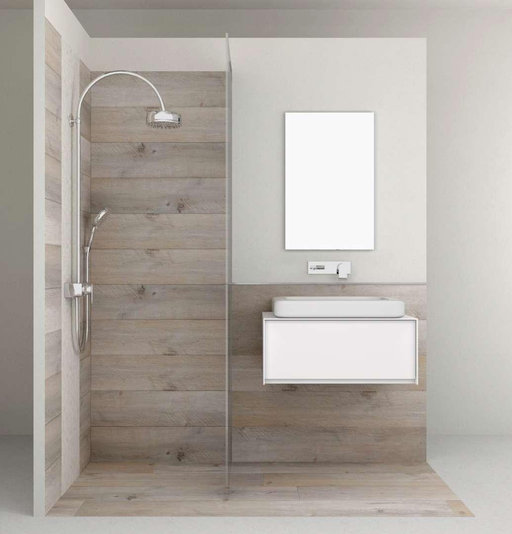 Dakota Auto Self Leveling Wood Look Floor & Wall Tile - BV Tile and ...