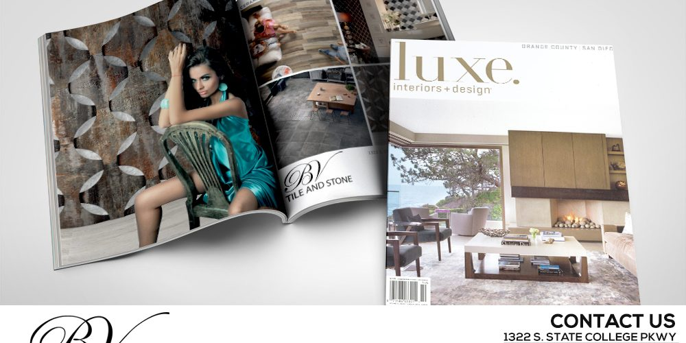 Check Out Our Ad In Luxe Interiors Design Magazine