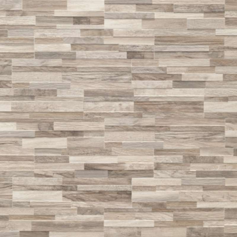 Wall Art Wood Tile 6x24 Greige - BV Tile and Stone
