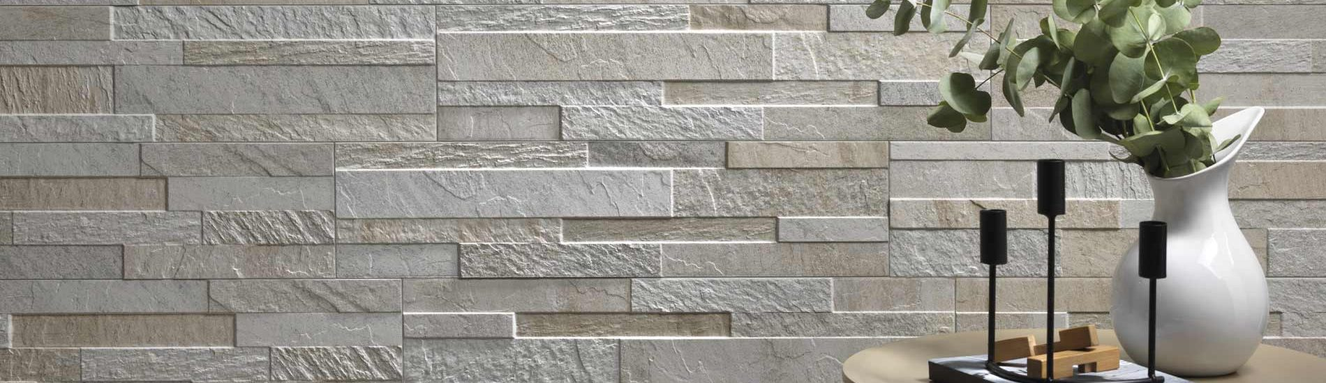 Cubics Ledger Stone Look Wall Tile