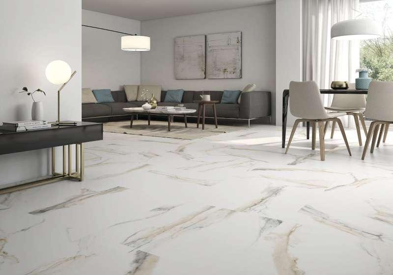 Atlantis Gold Spanish Large Format Marble Look Floor