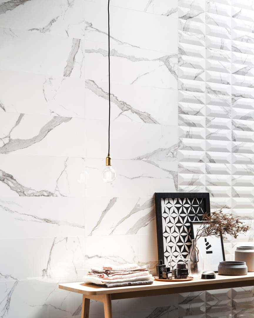 Cult Italian Marble Look 3d Wall Tile Ceramica Sant