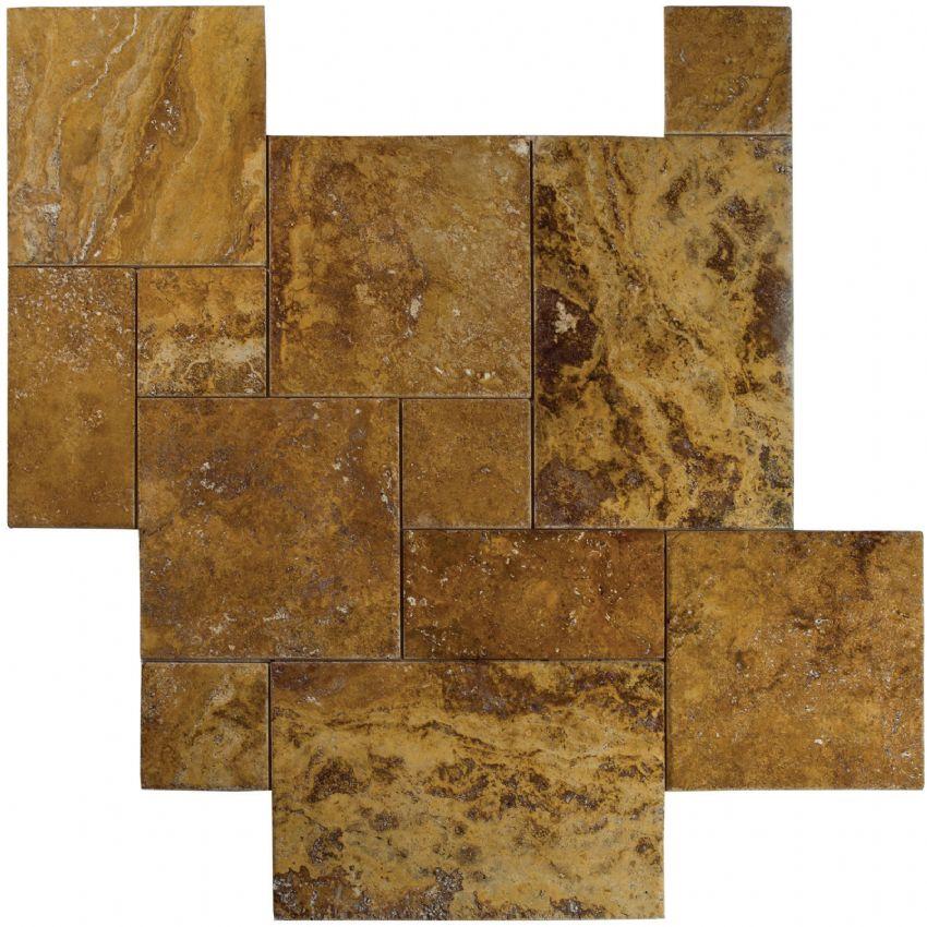 4 sz versailles pattern set bv tile and stone for Carrelage smart tiles leroy merlin