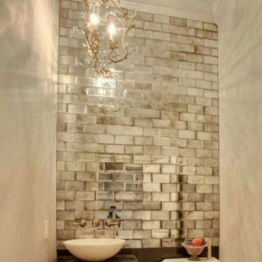 Reflections Gl Mirror Beveled Wall Tile Bv And Stone