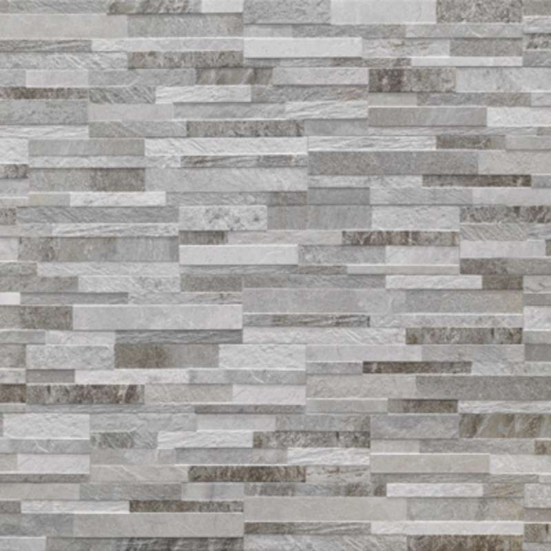 Cubics Wall Tile 6 24 Gray