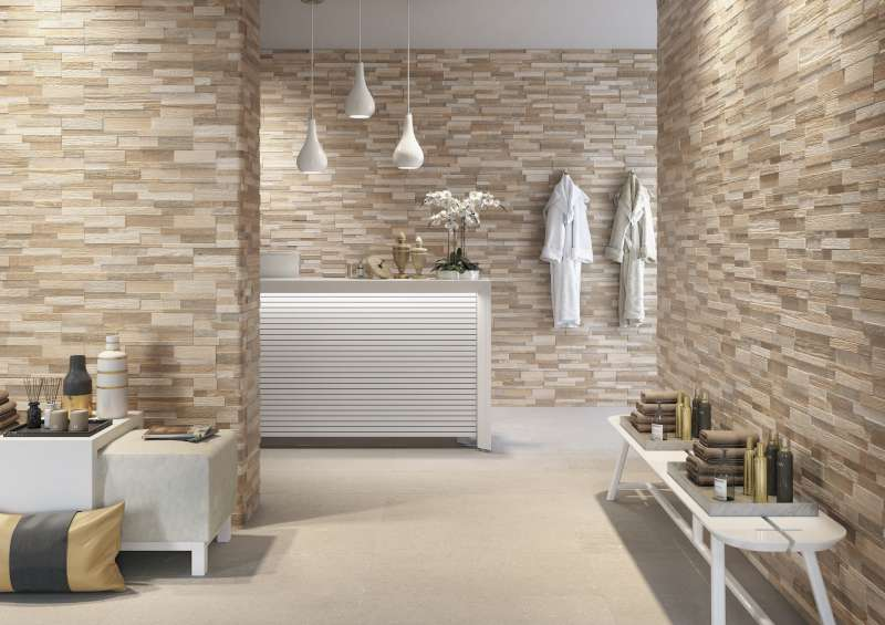 Wall Art 3d Wood Look Ledger Wall Tile Ceramica Rondine Bv Tile And Stone